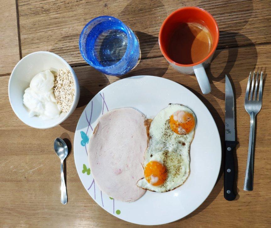 Petit déjeuner –sportif